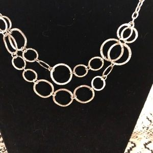 Jewelry - double silver chain